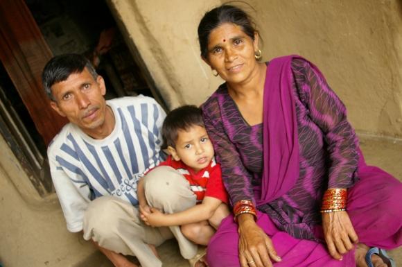 Papa en mama Dharmender