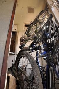 Our bikes! NO!!