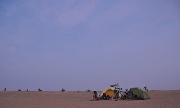 Finally, we can camp in the Sahara!