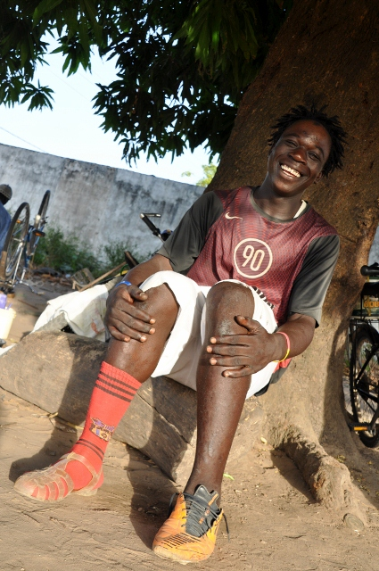 Musa, one of the nice village boys