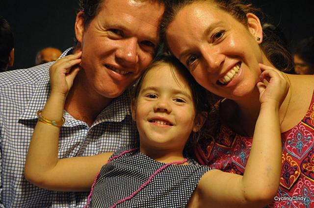 Hannemarie en Dennis en Sara
