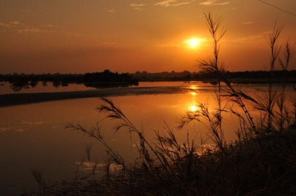 Altijd prachtige zonsondergang