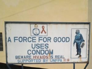 Signboard Condom
