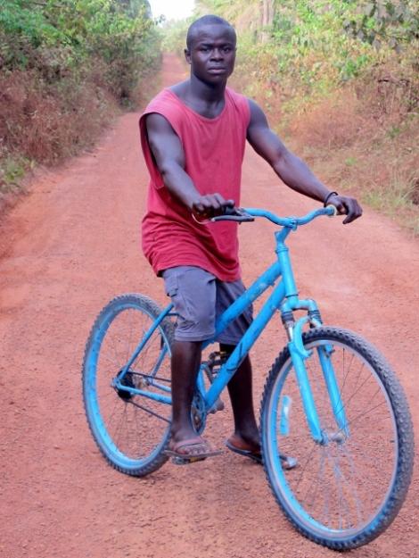 Blue Biked Boy