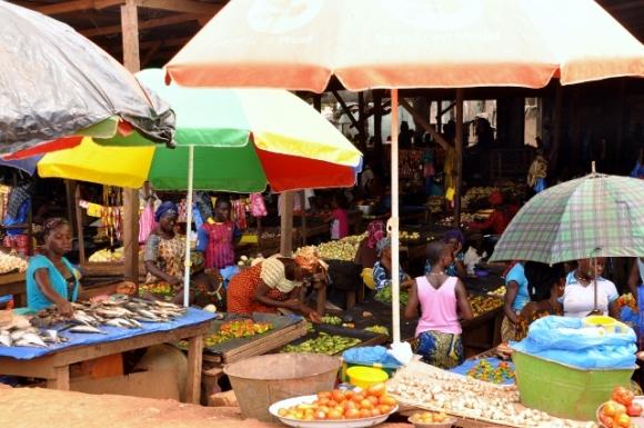 Market Nzerekore