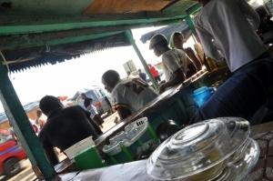 Entering Abidjan