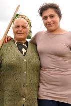 Boerin en Dochter Schoon