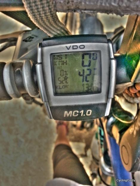 Temperature while Riding