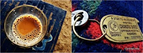 Key and Chai. Set