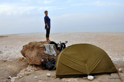 A not so stealthy camp. Oman
