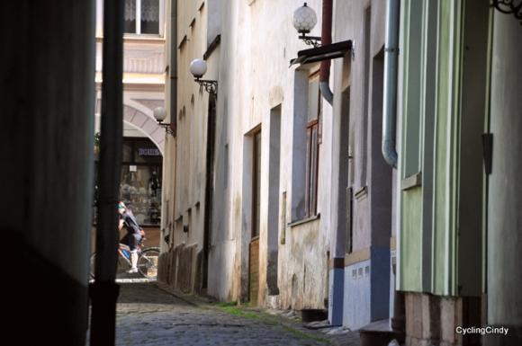 Trutnov's beautiful streetview