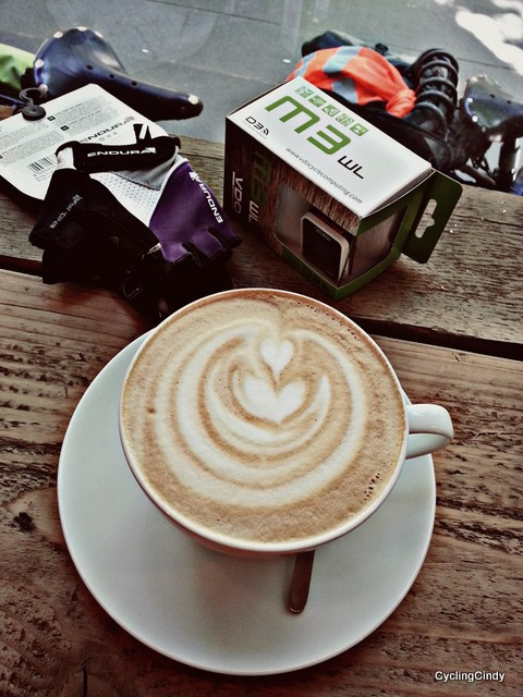 Free coffee at Mester Bike & Coffee Project