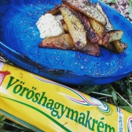 Iek! It's not mayonaise but onion cream