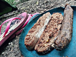 Little Lunch in a Day-Off stealthy Camp