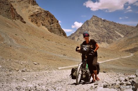 Pushing in the Himalaya, Spiti & Lahaul valley