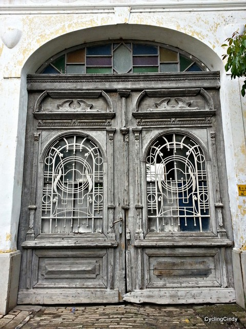 South Hungarian door