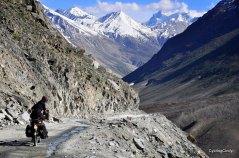After a 4550 meter pass, India