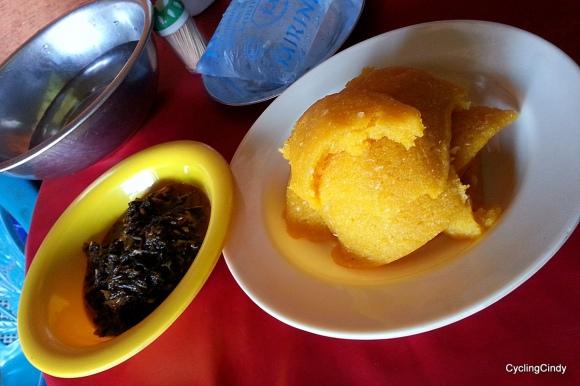 Eba, Nigerian food