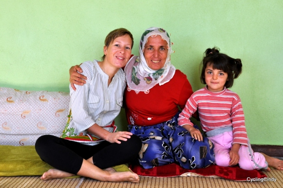 Hospitality from the Kurds is amazing. Here I slept with a Turkish mom and her youngest on the rooftop on one big mattress