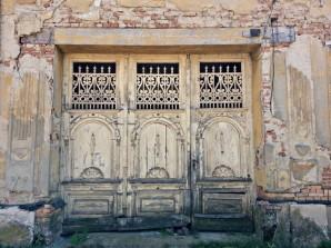 Last doorfront in Serbia