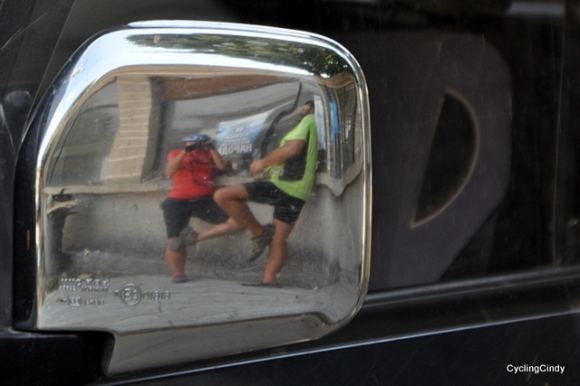 Mirror mirror on the car