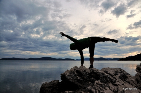 I wanted to make a serie of 'yoga' photo's...