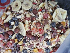 Another healthy choice, self made muesli