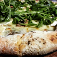 A terrific delicious pizza