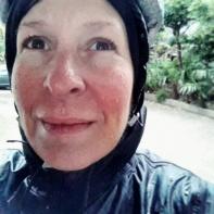 A rainy, cold, windy day