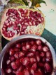 pomegranate as a gift, an extra kilo or two to carry