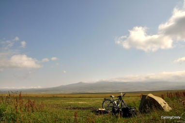 Camp in Armenia