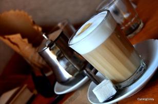 Nescafe coffee will do