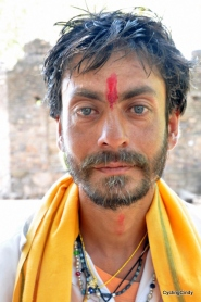 A spiritual seeker in Omkareshwar