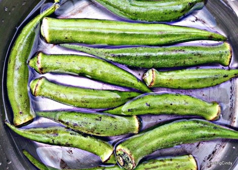 Okra's are one of my favorite veggies