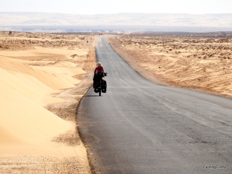 Crossing the Western Sahara was relatively easy and I loved every single minute of it!