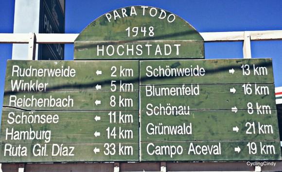 Hochstadt-Signage