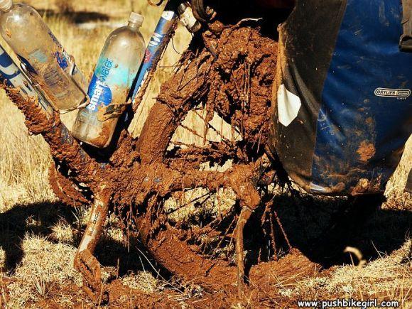 Muddy hell on the Arizona trail, USA