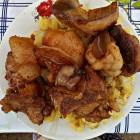Good food again, pig fat