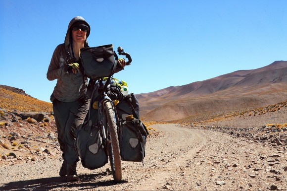 On to a 4500 meter pass in Argentina