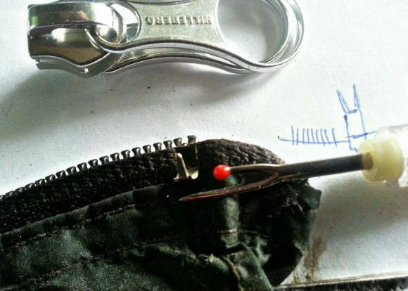 Going to Fix Zipper
