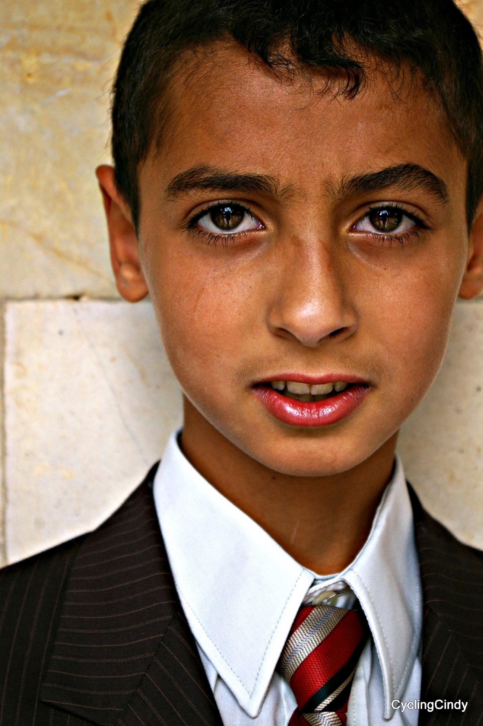 Eid, all children dressed in new