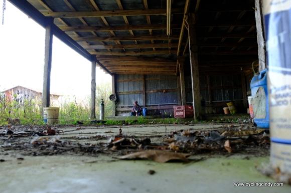 Abandoned camp spot